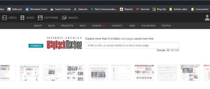 Récupérer du contenu sur Webarchive grâce à Zennoposter